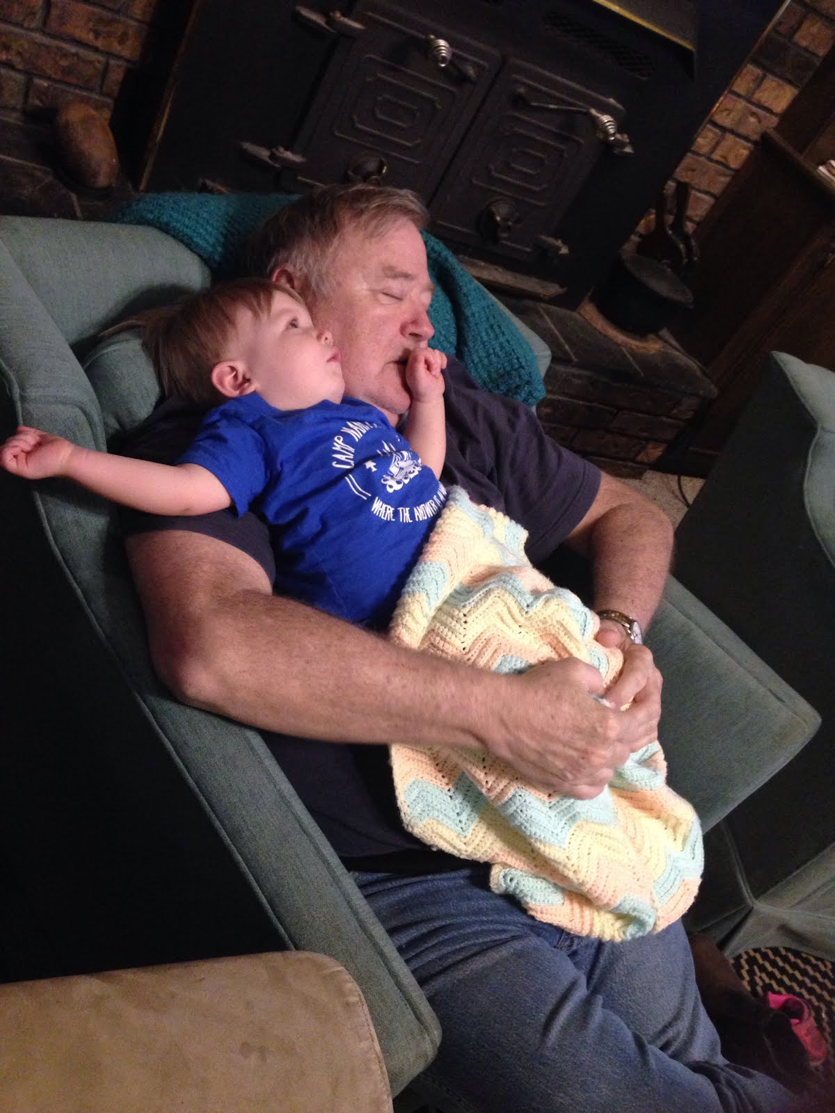 Napping with Pawpaw