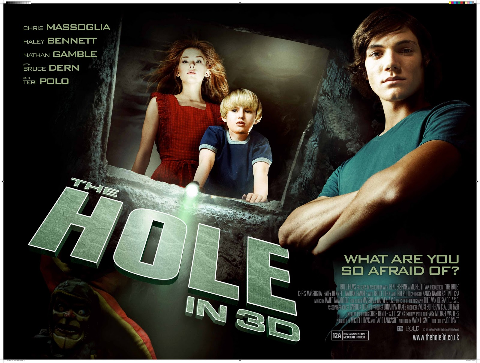 BLACK HOLE REVIEWS  Classic 3 D horror films    not for sale in 3