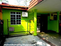 Melawis Homestay, Melaka. (Depan)