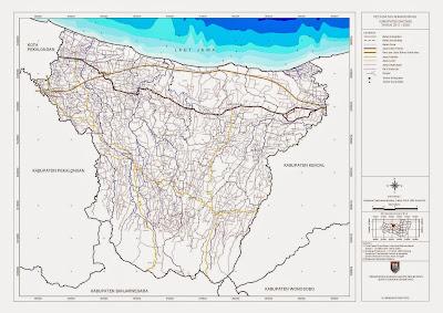 Peta Batas Administrasi Kabupaten Batang