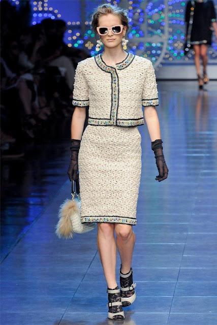 dolce gabbana45 - Dolce&Gabbana Ilkbahar 2012 | Milan Moda Haftas�