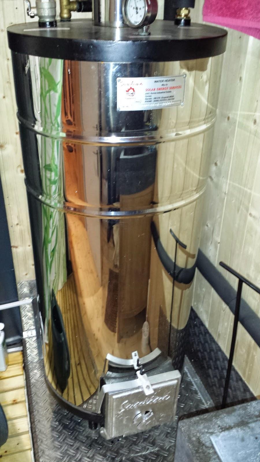Chauffe eau bois chauffe eau for Chauffe eau au bois pour piscine