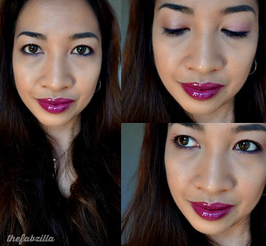 Fall Makeup Trend, Dark Lips, Berry Lips, Plum Lips, Matte Face
