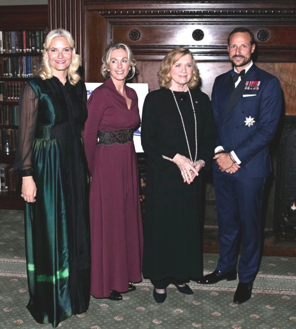 Crown Prince Haakon And Crown Princess Mette-Marit's Visit To New York City