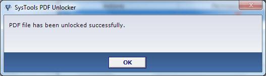 Systools tool PDF Unlocker