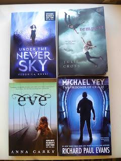 giveaway alert: YA Science Fiction ARC bundle!
