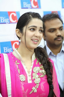 Actress Charmi Latest Pictures in Salwar Kameez at Big C Mobile Store Launch  0022.jpg
