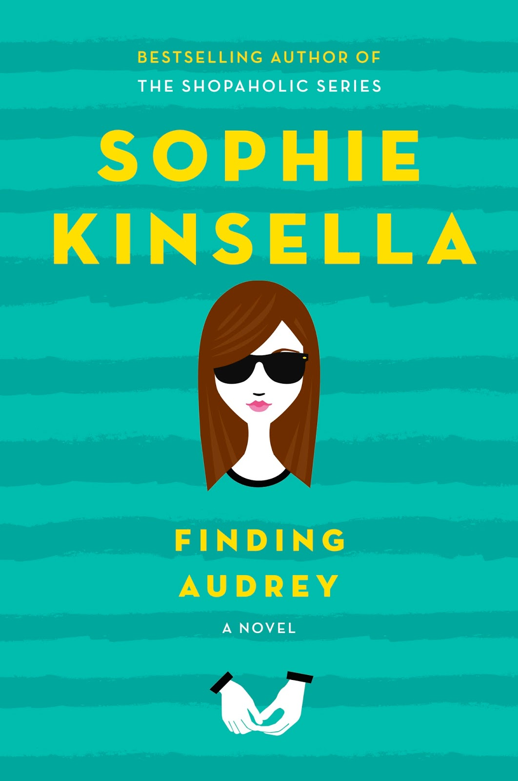 Finding Audrey by Sophie Kinsella -  The 29 Best YA Book Covers of 2015 as Chosen by Epic Reads Designers