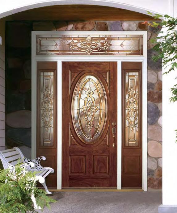 Protecting fiberglass exterior doors for Fiberglass front doors