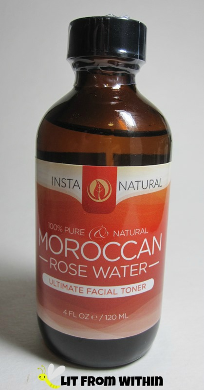 Insta-Natural Moroccan Rose Water toner