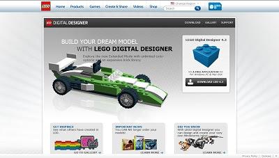 LEGO Digital Designer, 3D Modeling Aplication