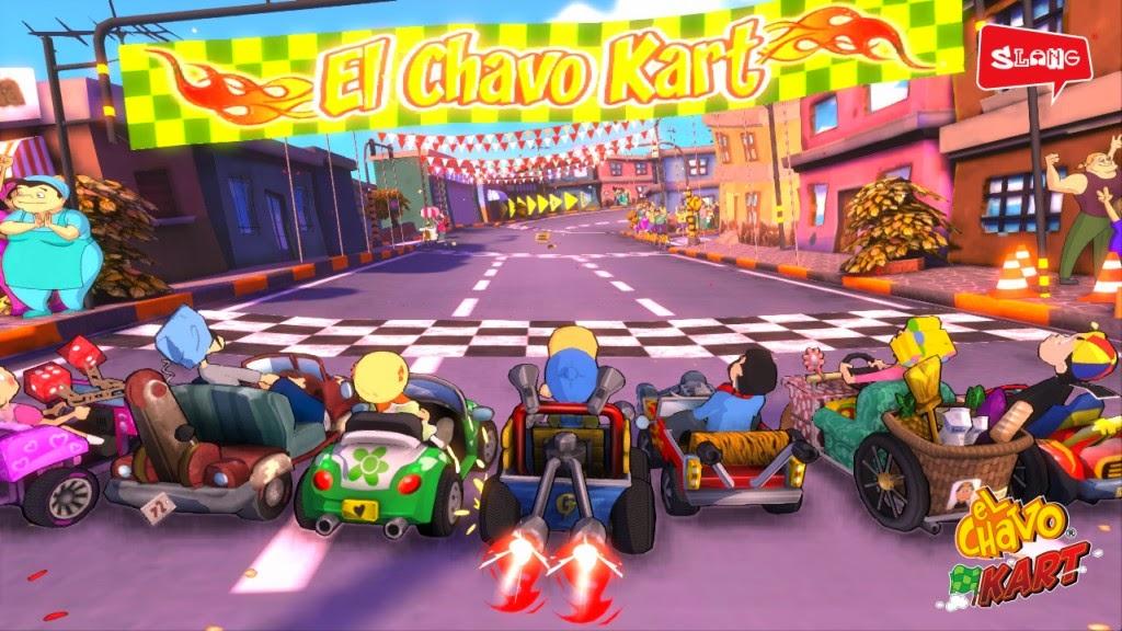 Video juego el Chavo Kart