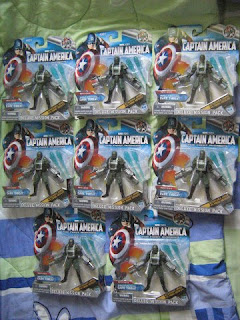Marvel Universe Legends Army Builders Hydra Hammer Drones Iron Man Captain America X-men Multiple Man Jamie Maddox Avengers