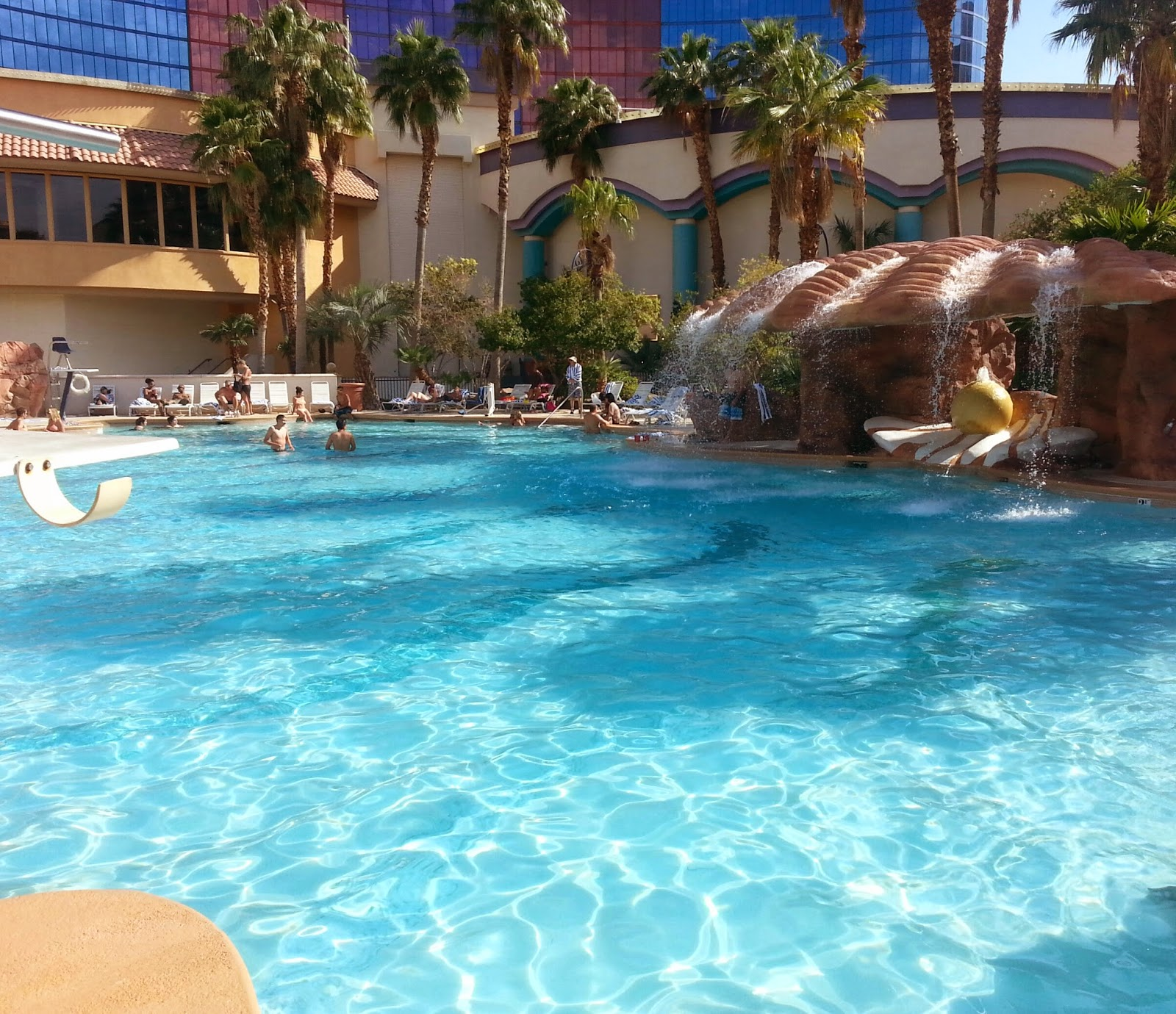 family friendly pools and parks in Las Vegas - Rio Pool