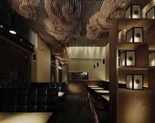 Restaurante de Madera Takeshi Sano