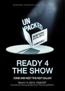 A apresentação do Samsung Galaxy S4 marca a estreia dos eventos 'Unpacked' .
