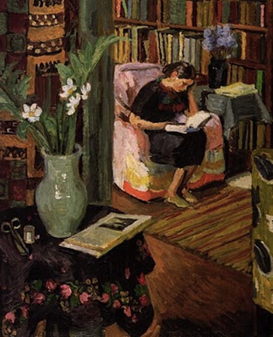 Vanessa Bell. The Artist's Daughter, 1935