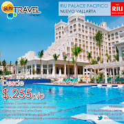 Ubicado en Nuevo Vallarta, Mexico, el Hotel Riu Palace Pacífico (Todo . (suntravel riupalacepacifico)