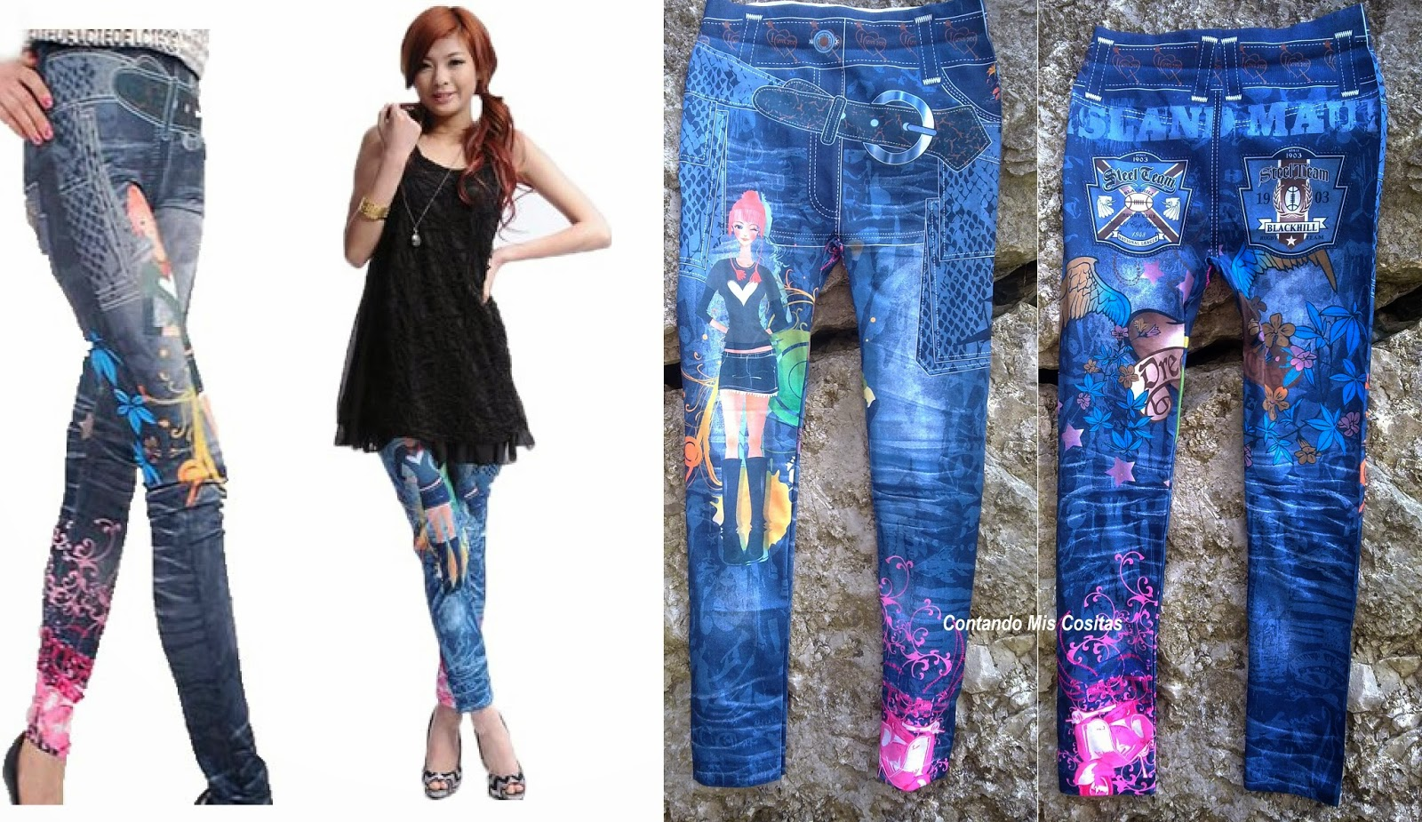 buyincoins leggin estampado