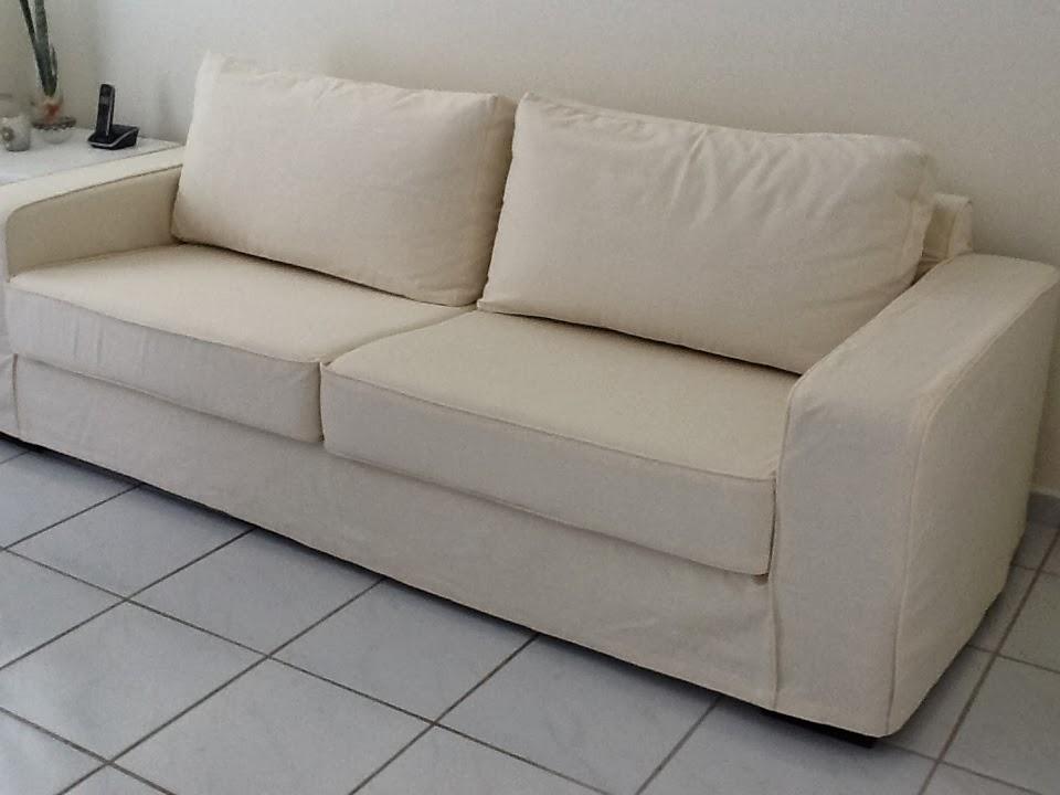 tok de requinte capa para sof com almofadas de assento e encosto. Black Bedroom Furniture Sets. Home Design Ideas