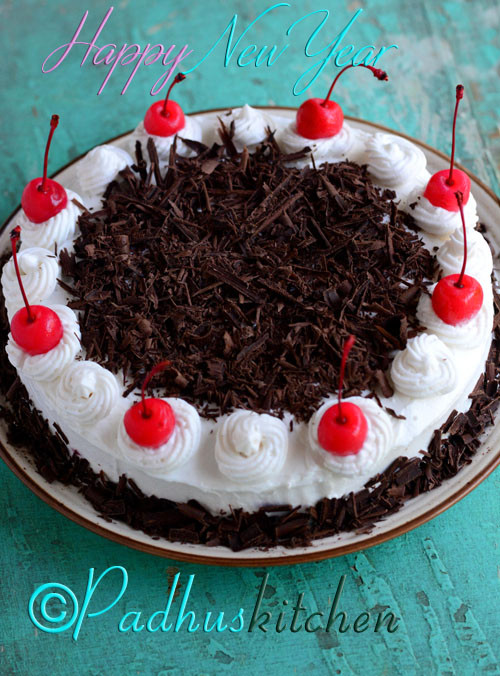 Black Forest Cake Recipe-Easy Black Forest Cake from scratch with step ...