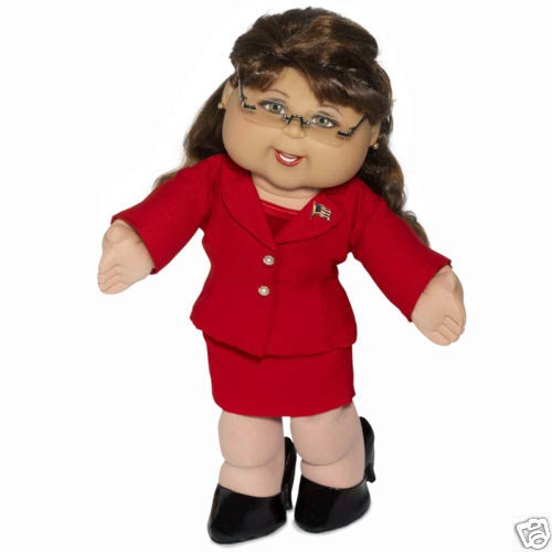 Cabbage Patch Sarah Palin doll