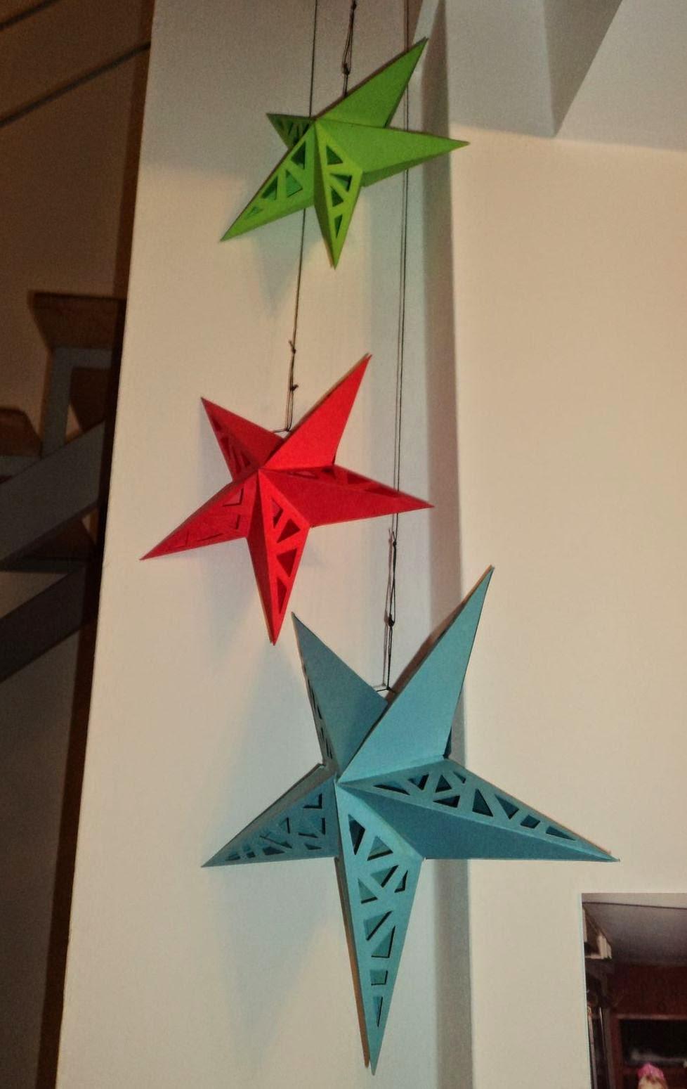 tutorial de artesan as moldes l mpara estrella de papel