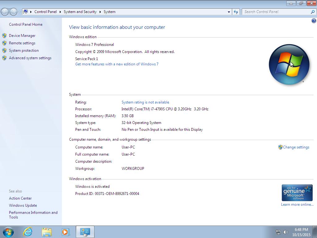 Windows 7 Sp1 AIO x86 Activated