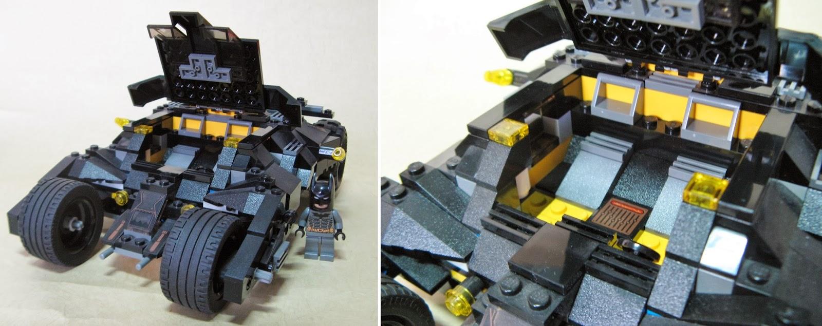 lego car show by bloks 7888 bat man bat mobile. Black Bedroom Furniture Sets. Home Design Ideas