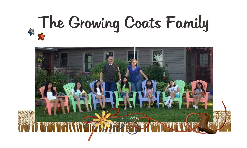 The Growing Coats Family