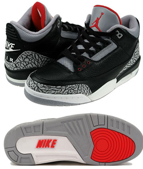 Nike Air Jordan III Black-Cement OG
