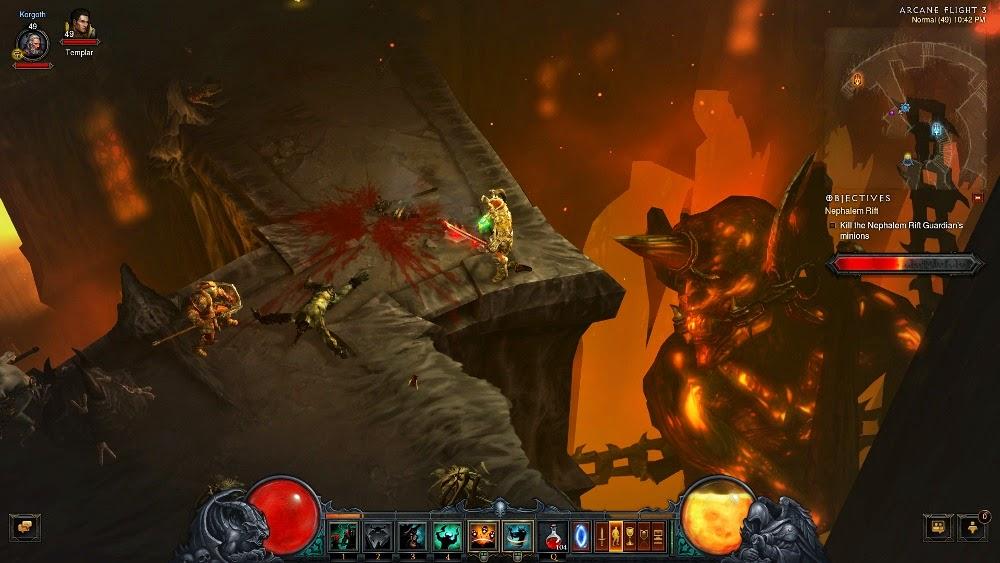 how long is diablo 3 reaper of souls