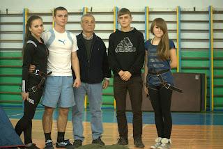 Презентація спортивних секцій кафедри фізичного виховання МНАУ.