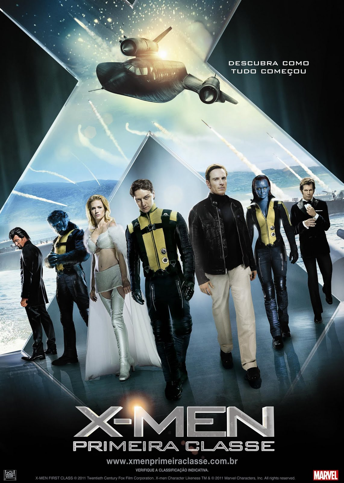 X-Men: Primeira Classe Full HD 1080p Blu-ray