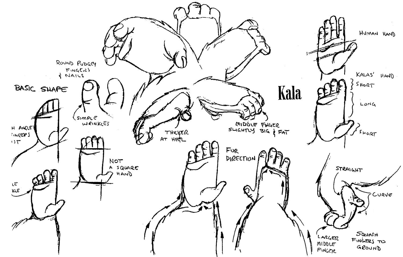 Disney Character Design Tarzan : Refart at calarts tarzan gorilla model sheets