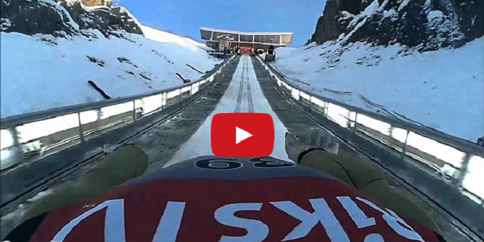 What It's Like To Go Off the World's Largest Ski Jump