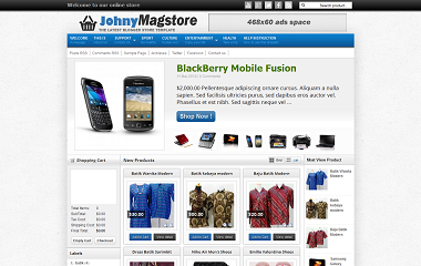 Johny Magstore Blogger Template