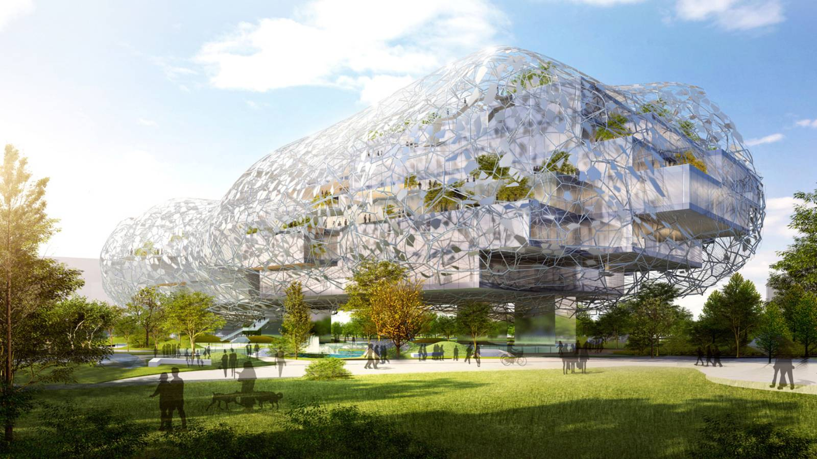 TAICHUNG CITY CULTURAL CENTER COMPETITION ENTRY BY RMJM ...
