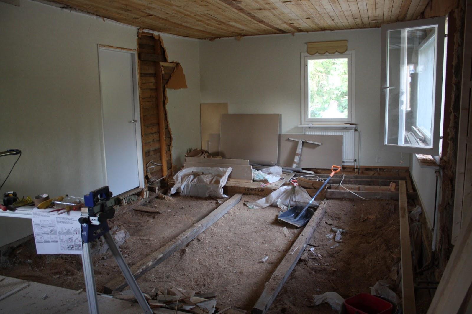 Söta drömmar: husprojekt: vardagsrummet del 1