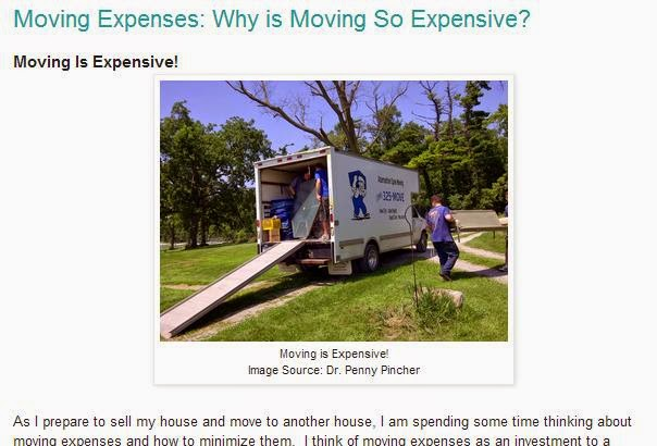 Save on Moving Expenses