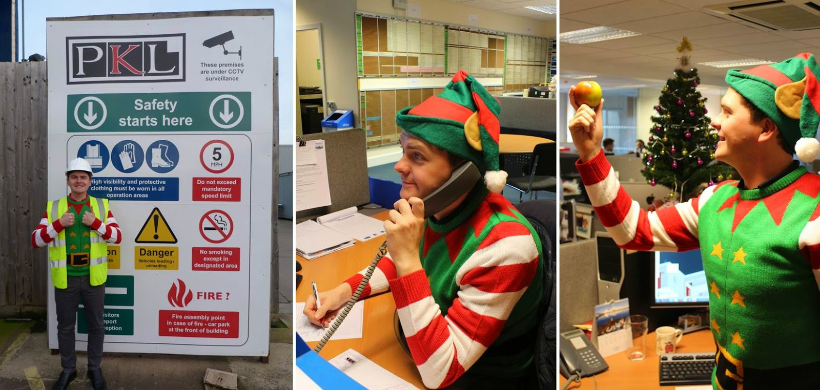 PKL Christmas - Elf and Safety