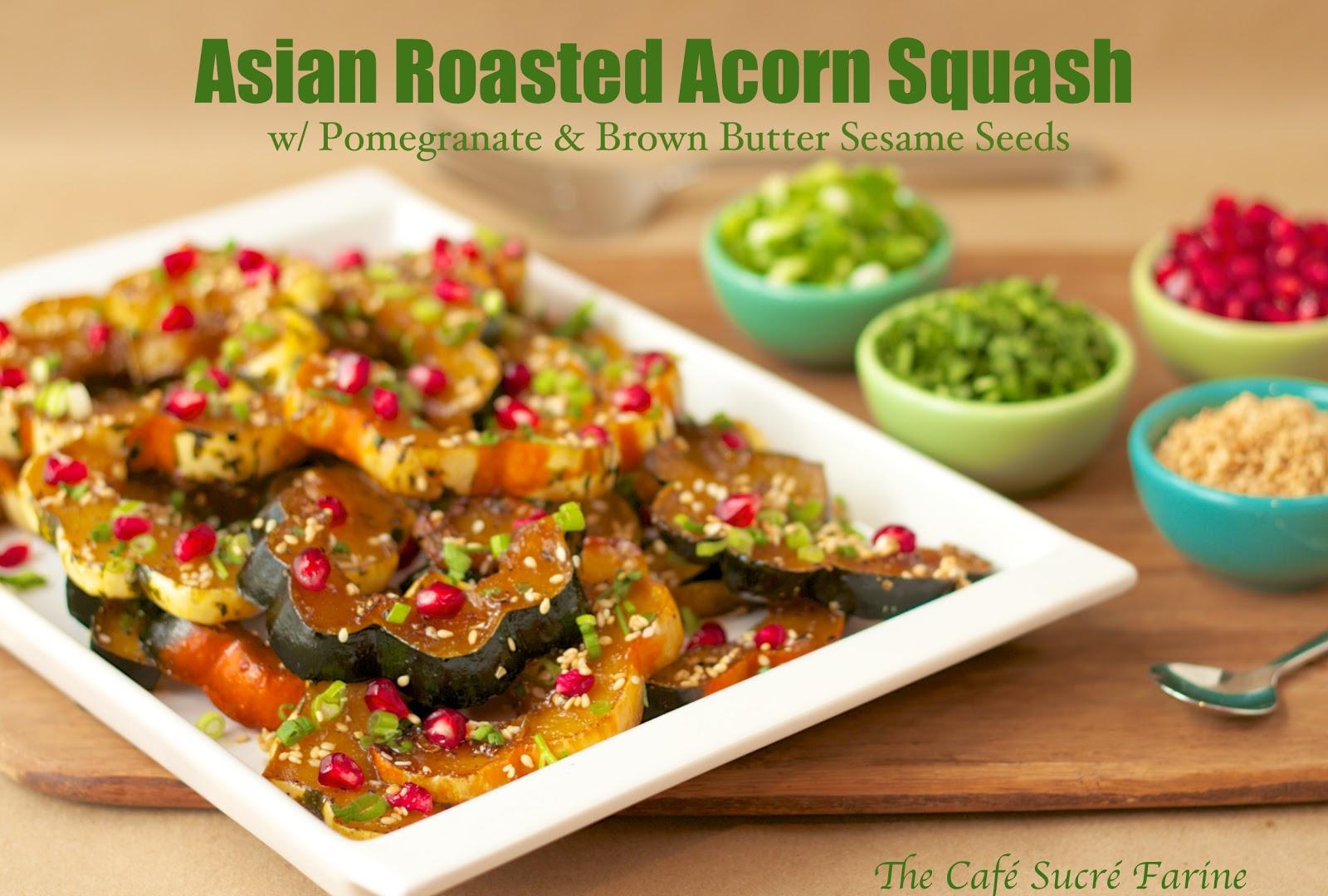 ... roasted acorn squash and beet sage honey roasted acorn roasted acorn