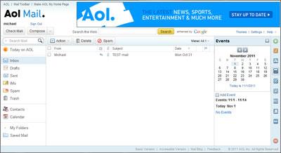 Situs Penyedia Layanan Membuat Email AOL Mail