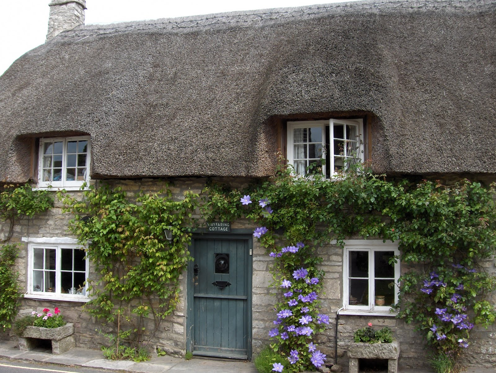 67 not out corfe castle where west and east are in the same direction - The thatched cottage ...