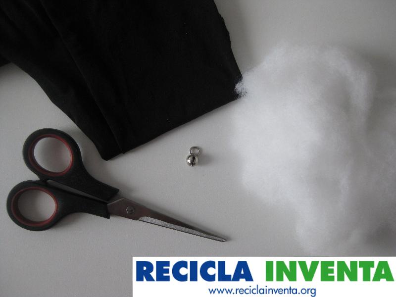 Cómo hacer un ratón para gato por Recicla Inventa