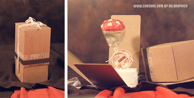 "Cakepop seta ""Leaves, pumpkins & party"""