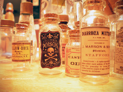 DIY Steampunk Apothecary Jars