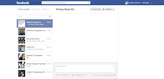 Tampilan Baru Facebook 2012