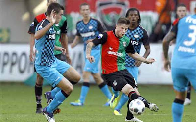 NEC Nijmegen 0 - 2 PSV Eindhoven