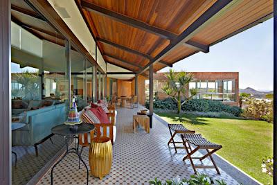 moderna villa de lujo